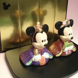 ディズニー ひな人形2
